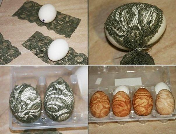 Ładna i szybka dekoracja Wielkanocnych jajek!