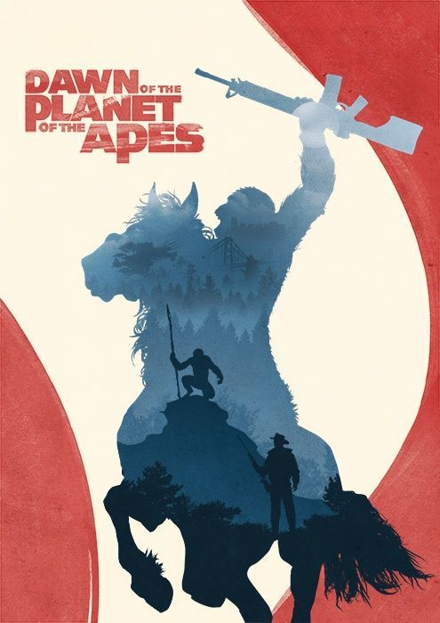 Dawn of the Planet of the Apes ( by PhrameDesign )