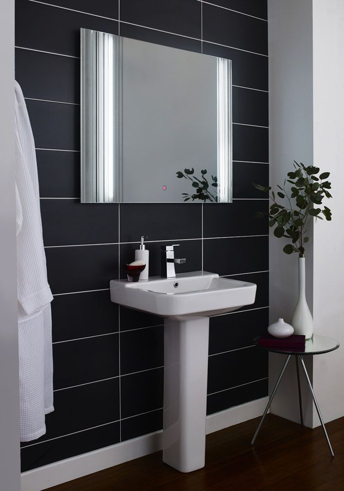 The Gala LED Mirror Is A Bathroom Classic