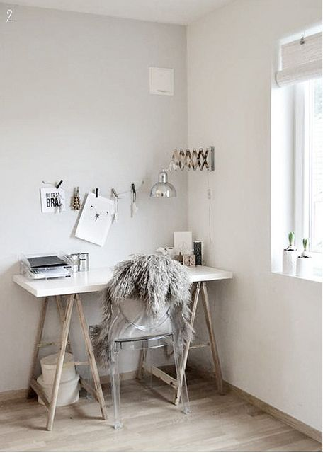 Winter whites by the style files, via Flickr #workspace van: http://style-files.com/#