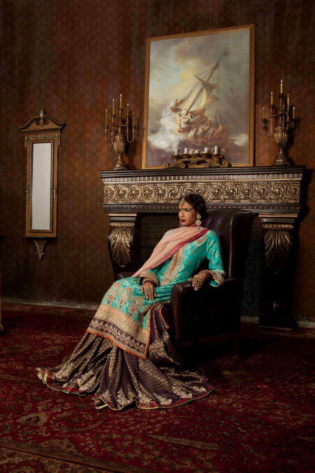 Pakistani Bridal Dresses | Kamiar Rokni Bridal Dress Collection 2013-2014