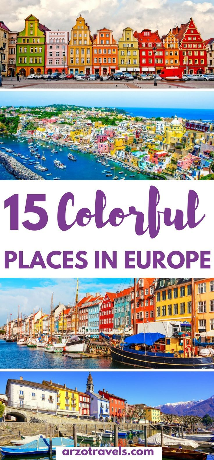 Europe is full of amazing colorful towns and cities, and here are the 15 best vivid places to visit in Europe.: