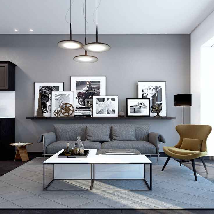 "THIS CONCEPT APARTMENT IN ""BERLIN"" STYLE WAS DESIGNED BY MICHAEL AZOULAY DESIGN STUDIO"