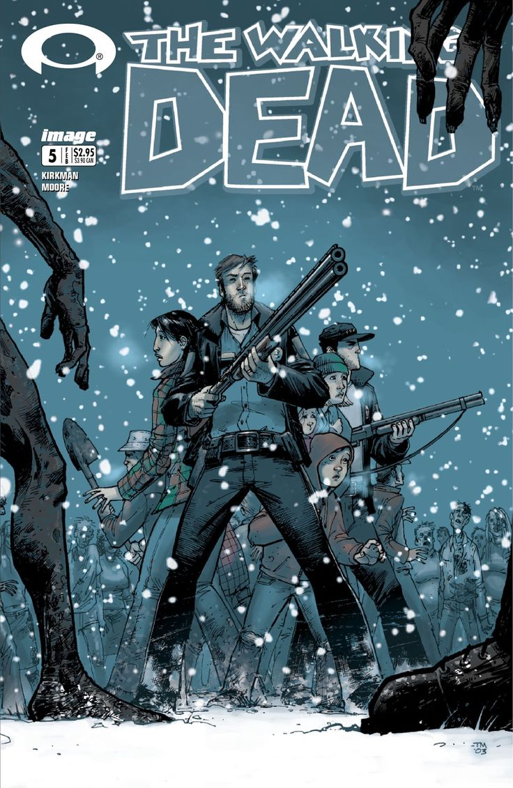 The Walking Dead     Issue #5     - Read     The Walking Dead     Issue #5     comic online in high quality