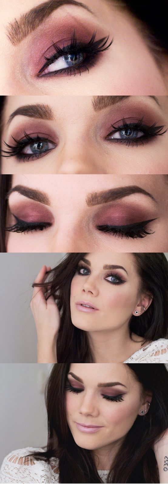 Mac Cranberry Eyeshadow Review Swatch And Demo: 25+ Beautiful Christmas Makeup Ideas On Pinterest
