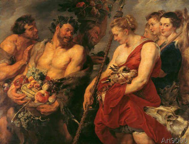 Peter Paul Rubens - Diana's Return from the Hunt