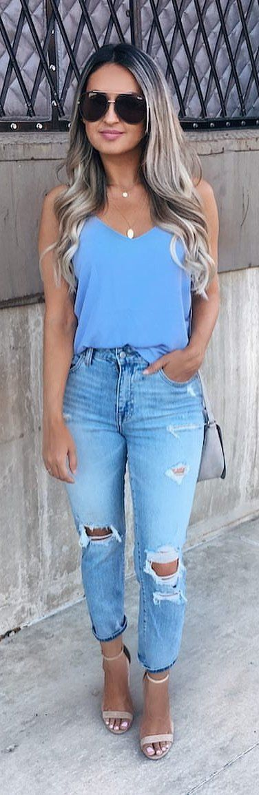 10+ Popular Outfit Ideas To Finish This Summer With Style 2