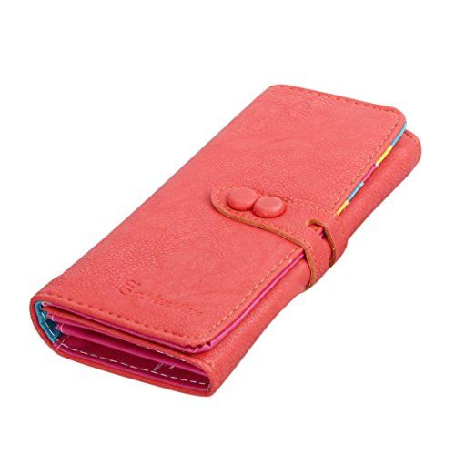 Lacaca Women Small Fresh Leather Wallet Mobile Phone Purse (Watermelon Red) Lacaca http://www.amazon.co.uk/dp/B017JZJ1GW/ref=cm_sw_r_pi_dp_lLXowb1NBYRAW