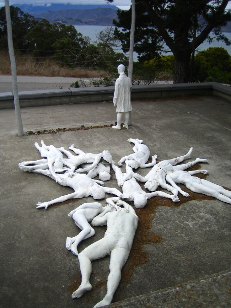 George Segal - Holocaust. Beautiful & haunting. I hope they never stop teaching what happened.
