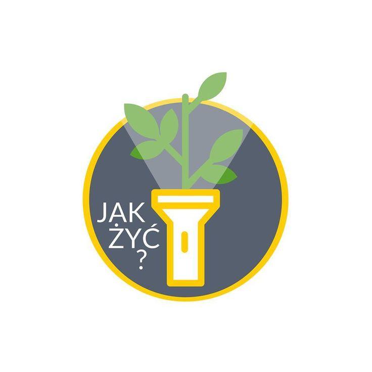Logo grupy Jak żyć? dla Duszpasterstwa Akademickiego (Poznań, 2015/16). Projekt: Grzegorz Dąbkowicz OP.