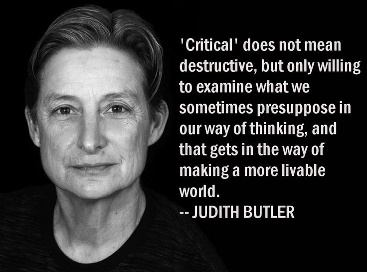 "notes on gender trouble by judith ""imitation and gender insubordination"" by judith butler – a summary  people  who push these boundaries and cause ""gender trouble."