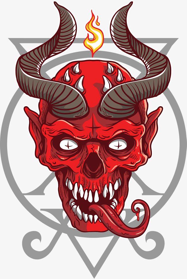Dreadful Demons Png And Vector Japanese Tattoo Art Skull Art Demon Drawings
