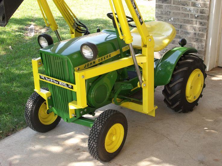 John Deere 110 Garden Tractor Attachments : Best john deere lawn and garden images on pinterest