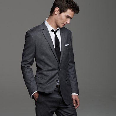 25  best ideas about Charcoal gray suit on Pinterest | Groom ...