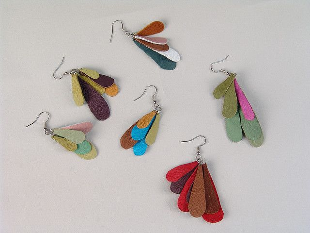 leather jewelry by acoate, via Flickr