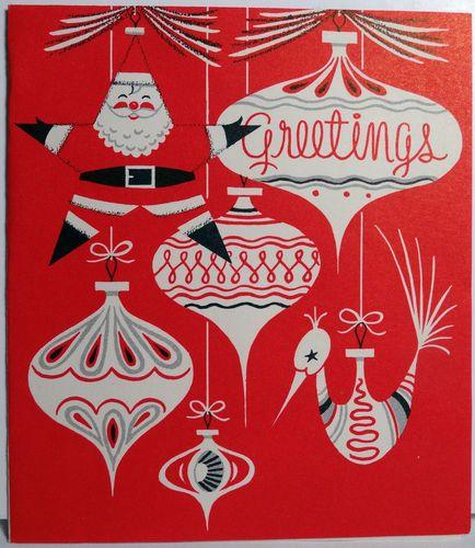 199 best Christmas Vintage-Ornaments & Wreaths images on Pinterest ...