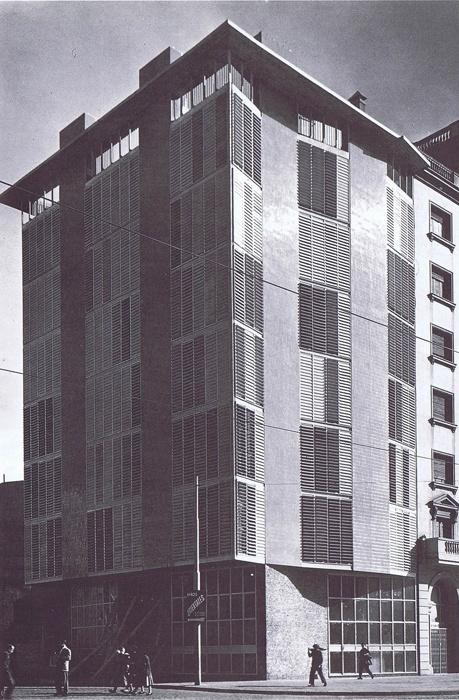 HIC Arquitectura » Coderch | Casa de la Marina | 1952