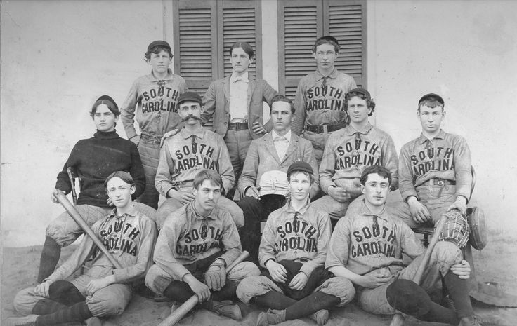 From the vault: Fear the stache! Today marks the return of Gamecock baseball. To get you in the spirit, here's the earliest known photo of a Carolina club, circa 1896 (courtesy of the South Caroliniana Library). Unfortunately, we don't know the names of the players, much less their positions, but it's easy to imagine the one with the whiskers as a flame-throwing reliever with an eye on Omaha. The 2013 season opener is today at 3 p.m. against Liberty University at Carolina Stadium.