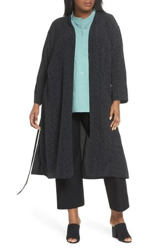 139b0cdbe7f New Eileen Fisher Belted Long Kimono Jacket (Plus Size) online.   368