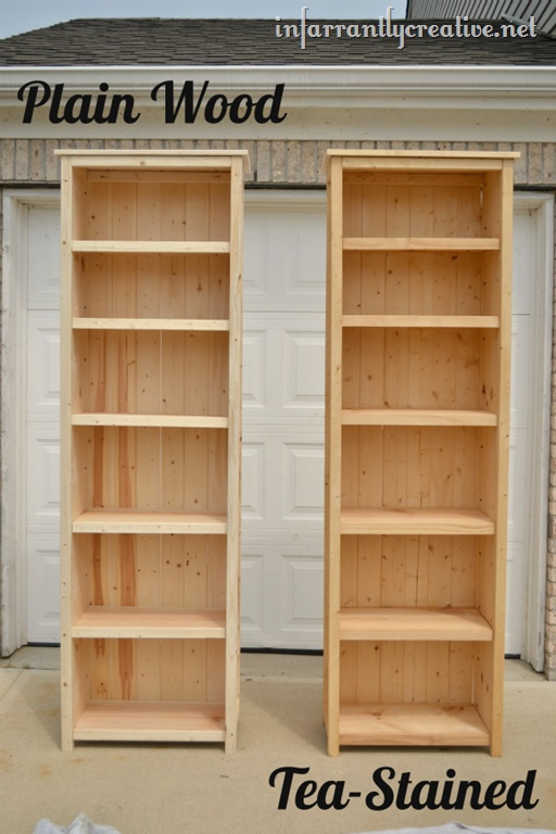 Best 25 homemade bookshelves ideas on pinterest book for Building a bookcase for beginners