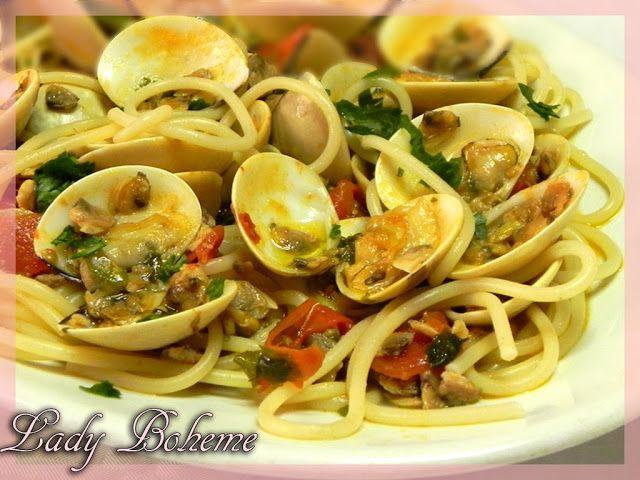 Italian food - Spaghetti alle vongole veraci