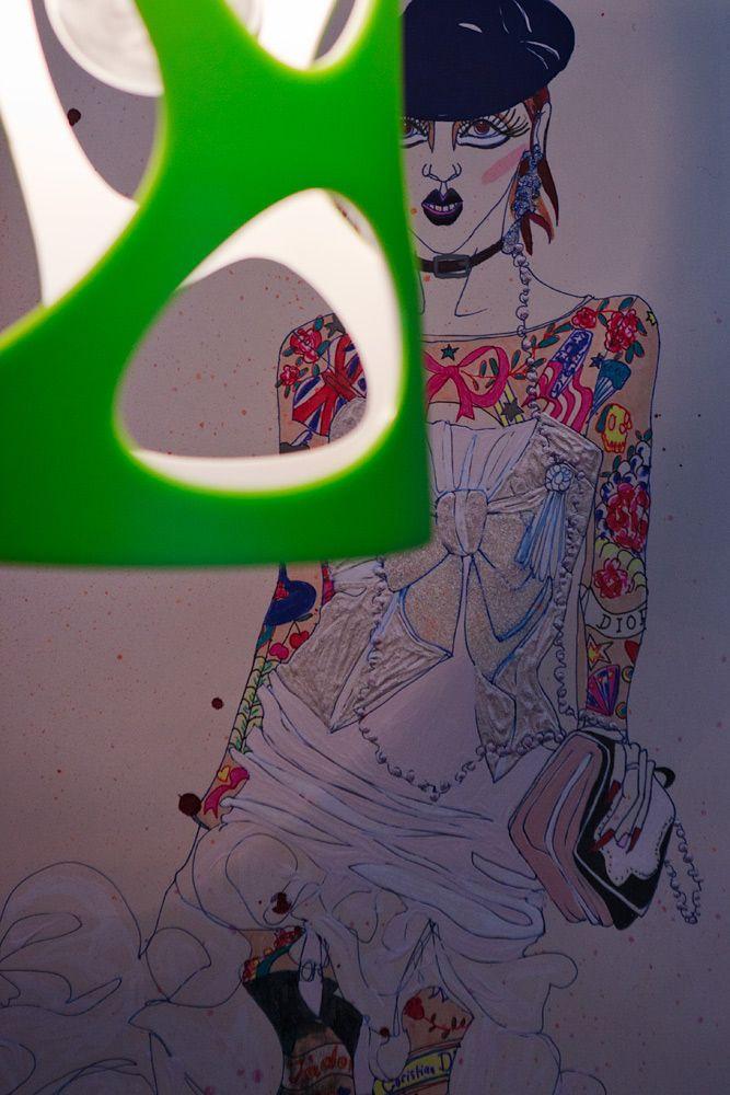 Sarah Beeston funky artwork.