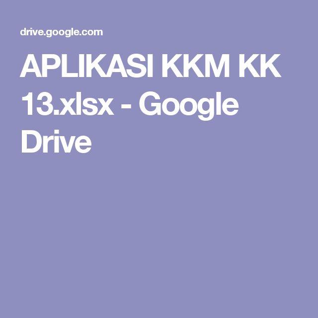APLIKASI KKM KK 13.xlsx - Google Drive