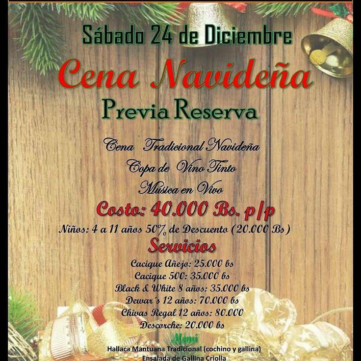 #ElPlanParaMañanaEnLaIsla @Regrann from @ruamsalashow -  Este 24 Estamos Abierto al Publico Entrada Gratis Con Musica en Vivo Por parte de la Orquesta Clave Caribeña. @orquestaclavecaribena  Ofrecemos Cena Navideña (Previa Reserva) Por los telefonos: 0295-4162803 y 0414-8412614  Celebra La Navidad En #Ruamsalashow  Te Esperamos!  #Navidad #Compartir #Familia #CenaNavideña #Ruams #SalaShow #MusicaEnVivo #Orquesta #IslaDeMargarita #Pampatar - #regrann