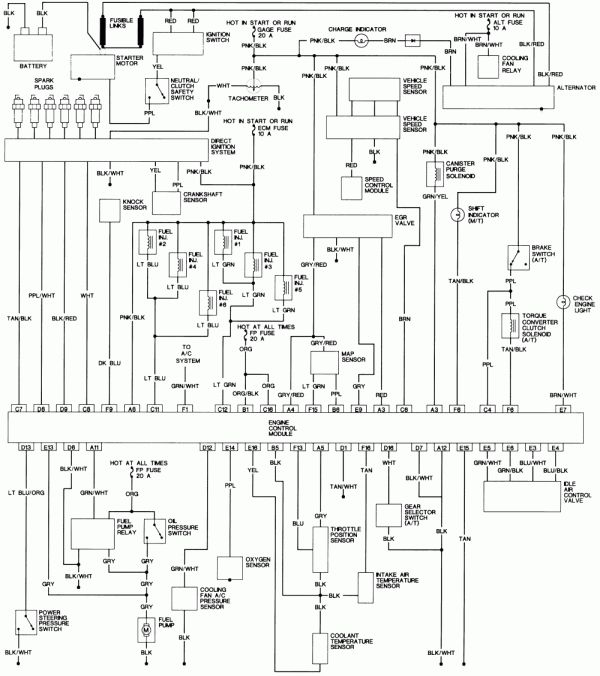 Engine Wiring Diagram And L Vin W Engine Control Wiring Diagram Vehicles In 2020 Diagram Sheet Music Engineering