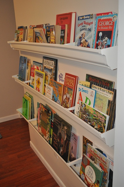 Classroom Bookshelf Ideas ~ Best ideas about rain gutter shelves on pinterest