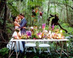 Mount Tamborine Rainforest Weddings Wedding Reception Venues With Settings Marquee Venue
