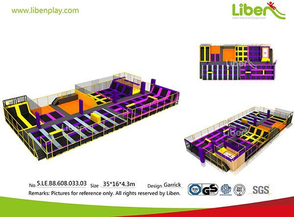 165 best indoor trampoline park images on pinterest kids for Indoor trampoline park design manufacturing