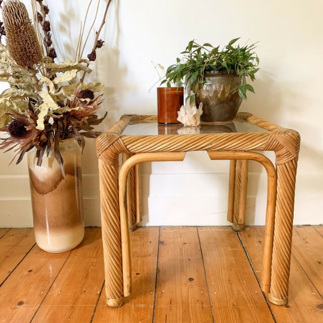 Vintage Twisted Rattan Coffee Table Cane Side Table Coffee Tables Gumtree Australia Moreland Area Coburg Rattan Coffee Table Coffee Table Cane Side Table