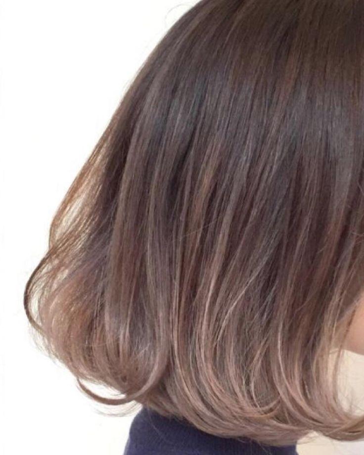 「痛まないブリーチ☆ ダメージレスブリーチカラー☆ グレージュ カラー グラデーションカラー #ハイライト#ハイライトカラー #ヘアカラー #おしゃれ#ボブ#ヘアスタイル #グレージュ #原宿 #表参道#ブリーチ #グラデーションカラー #sweet #haircolor #hairstyle…」