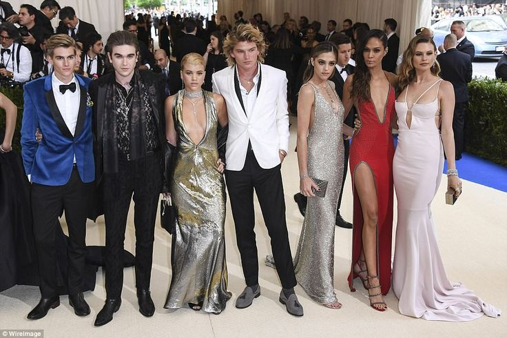MET GALA 2017 Fashion's new favorites: Presley Walker Gerber, Gabriel-Kane Day-Lewis, Sofia Richie, Jord...