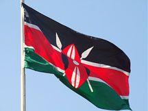 The Kenya Flag.