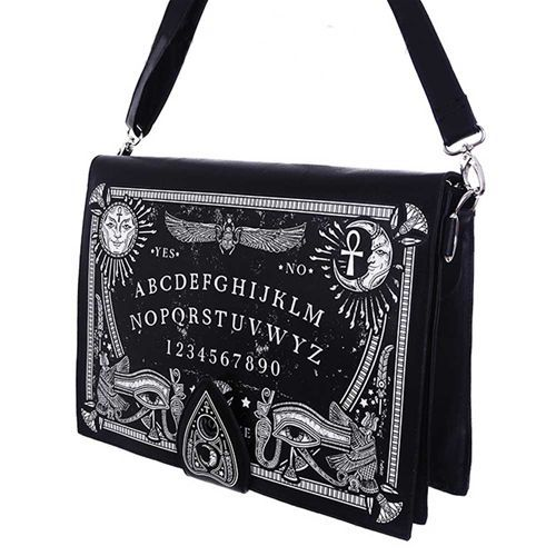 Ouija Spirit Board schoudertas zwart - Gothic Occult