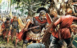 romanos y barbaros