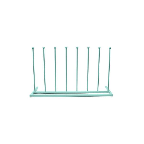 Steel Boot Stand in Miami Spearmint made by Kelly Contemporary