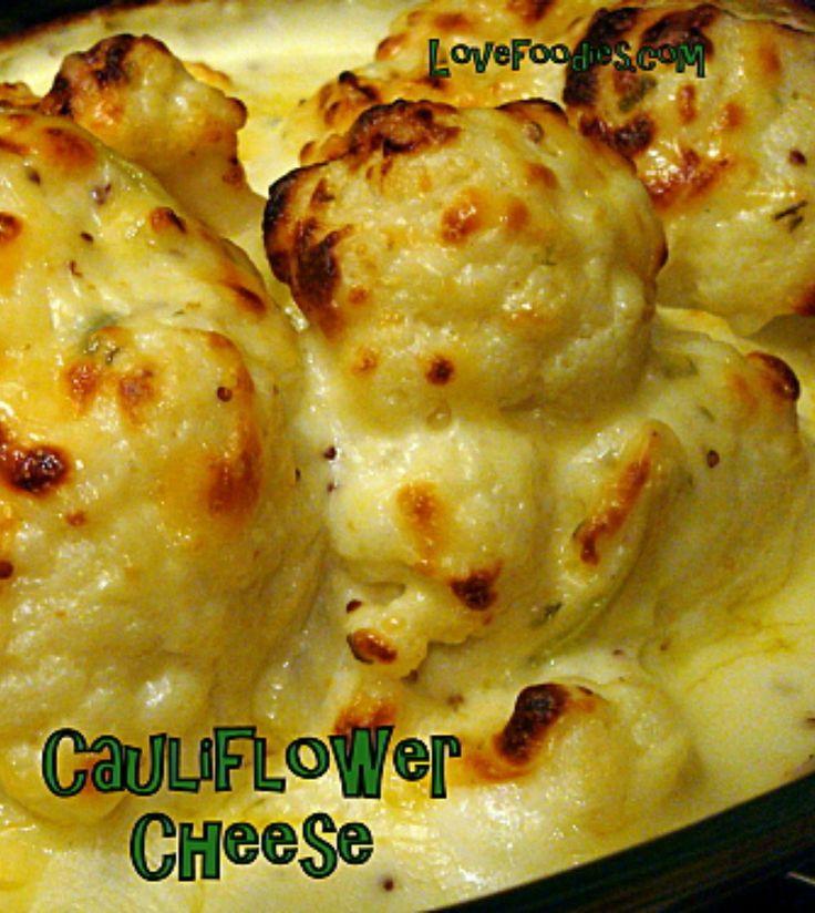 Baked Cauliflower Cheese on MyRecipeMagic.com