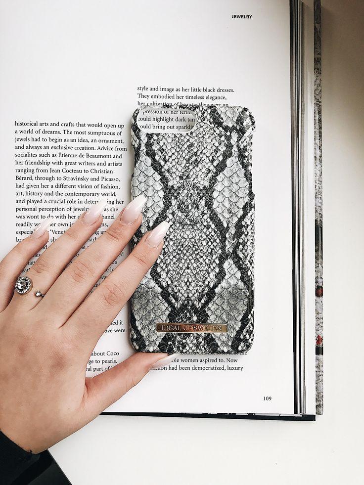Python by @ninagunarsson - Fashion case phone cases iphone inspiration iDeal of Sweden #snake #carrara #gold #fashion #inspo #iphone