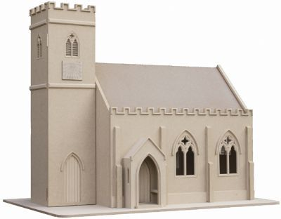 All Saints Church Dolls House Kit from Bromley Craft ...
