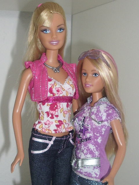 Camp Fun Barbie & Skipper by What doesnt Kill you makes you Stronger, via Flickr