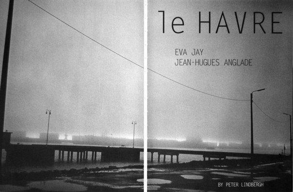 Peter Lindbergh/Eva Jay & Jean-Luc Anglade/Nov 2002