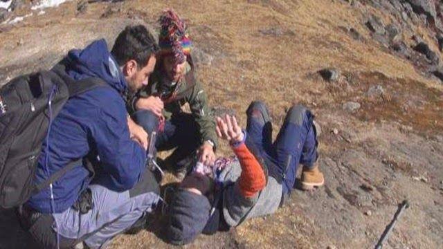 Η.W.N.: Τρόμος στα Ιμαλάια - Πώς γλίτωσε από τον θάνατο ο ...