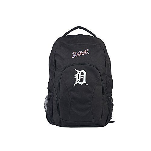 MLB Detroit Tigers DraftDay Backpack, 18-Inch, Black