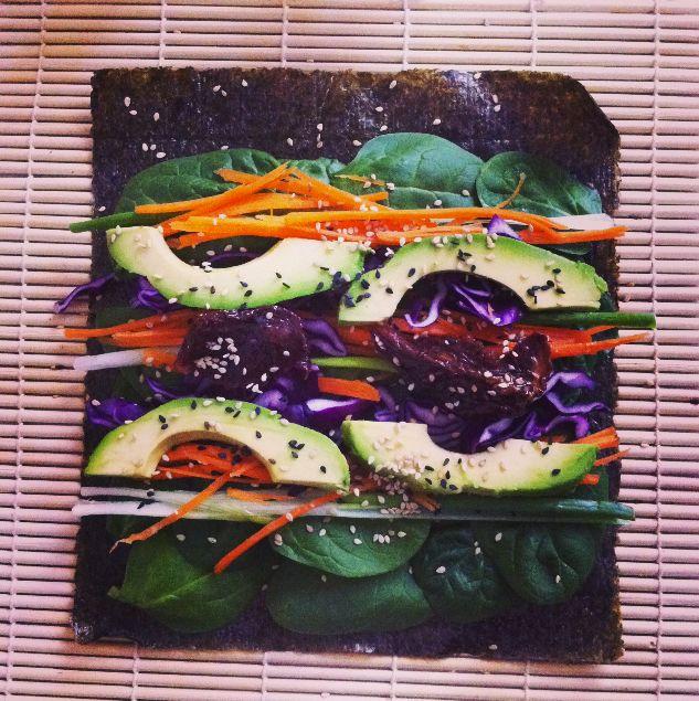 Lunchen met een Nori Wrap - Carlijn Potma - Food - Blog - VOGUE Nederland