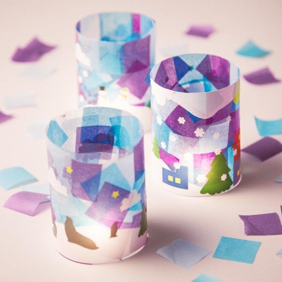 January Craft Ideas For Kids Part - 30: Bright Idea: Luminaries Kidsu0027 Craft