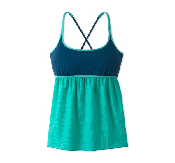 This is so adorable! It hides your tummy too! Workout shirt by prAna - Scarlette Top