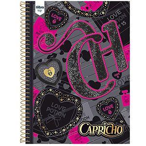 Caderno 01 matéria universitário Tilibra Capricho Top 96 folhas 20 x 27,5 cm :: Papelaria Papel Fantasia :: Papelaria Online